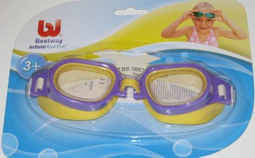 Schwimmbrille Taucherbrille Lila ab 6 Jahre Bestway