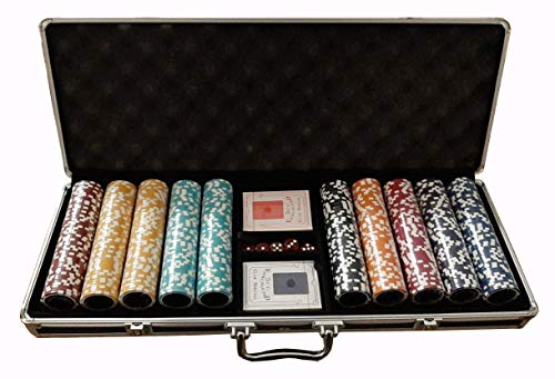 Set Poker Completo Valigetta 500 Fiches The Nuts Replica 14 Grammi Tournament
