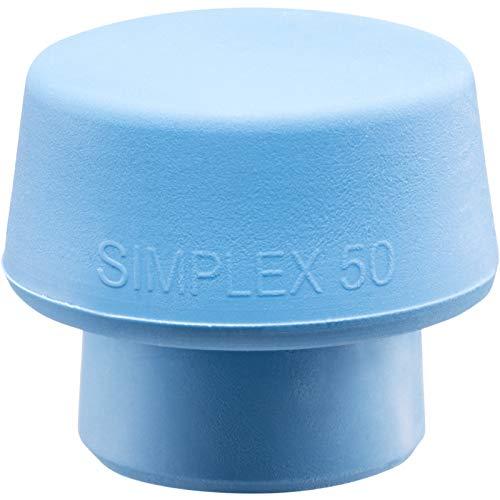 40 mm Halder 3117040 Simplex Maillet de Tpe-doux//Plastique super avec Bo/îtier en Aluminium Multicolore