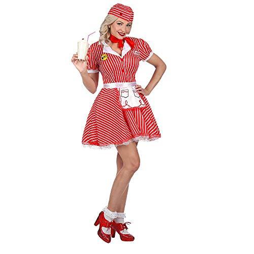 WID Costume Carnevale Cameriera Drive in Anni 50 PS 35391 (L)