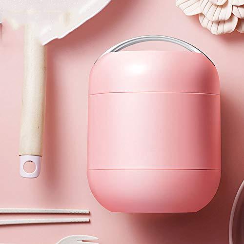 Sterrenhemel Vacuüm thermoskan, borosilicaat glas liner isolatie reizen isolatie lunchbox, vacuüm voedsel tank 1L, grote capaciteit lunchbox