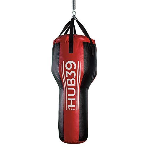 Hub39 -Sacco Boxe Pieno, 30 kg- Sacco Boxe Professionale, per Montanti - Sacco Boxe Lungo,cm.100 - Chiedi info sui Modelli in pronta Consegna