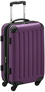 HAUPTSTADTKOFFER - Alex- Carry on luggage On-Board Suitcase Bag Hardside Spinner Trolley 4 Wheel Expandable, 55cm, purple (B004W2TRK6) | Amazon price tracker / tracking, Amazon price history charts, Amazon price watches, Amazon price drop alerts
