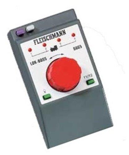 Fleischmann 6865 - Fahrregler LOK-BOSS mit Fahr-Drehknopf, Zwei Drucktasten,