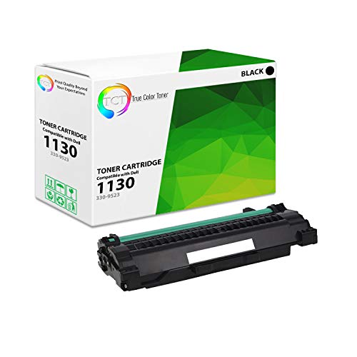TCT Premium Compatible Toner Cartridge Replacement for Dell 330-9523 Black Works with Dell 1130 1130N 1133 1135N Printers (2,500 Pages)