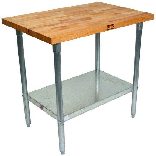 Peachy Check Price John Boos Maple Top Work Table W Galvanized Machost Co Dining Chair Design Ideas Machostcouk