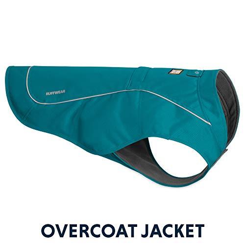 RUFFWEAR - K-9 Overcoat, Abrasion-Resistant Insulated Jacket for Dogs, Larkspur Purple, Medium