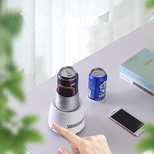 Zubehör 28W Sofort 350ml Elektrokühler Kühlgeräte Cup Sommer Schnellkühler elektrisch betriebene Cup Cooler-Schalen-Becher-Halter-Maschine Mini-Kühlschrank Gefrierschrank for Getränke Joghurt Jelly