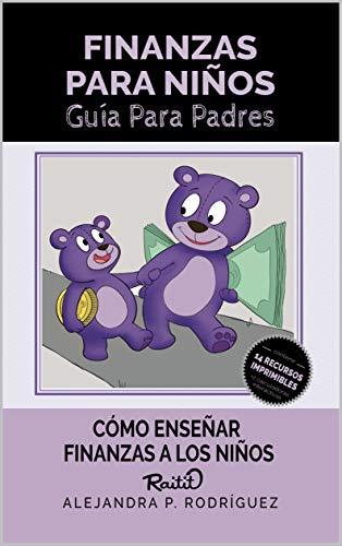 Portada del libro Finanzas Para Niños de Alejandra P. Rodríguez