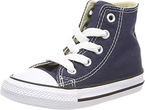 Converse Childrens Hi Top Pumps Navy Chuck Taylor All Stars 2 Infants