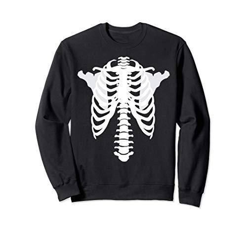 Esqueleto de rayos X aterrador Nuevo disfraz de Halloween Sudadera