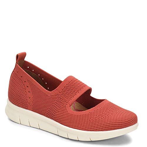 Comfortiva Women's Carlene Red Meshflats-Shoes 7 C/D US