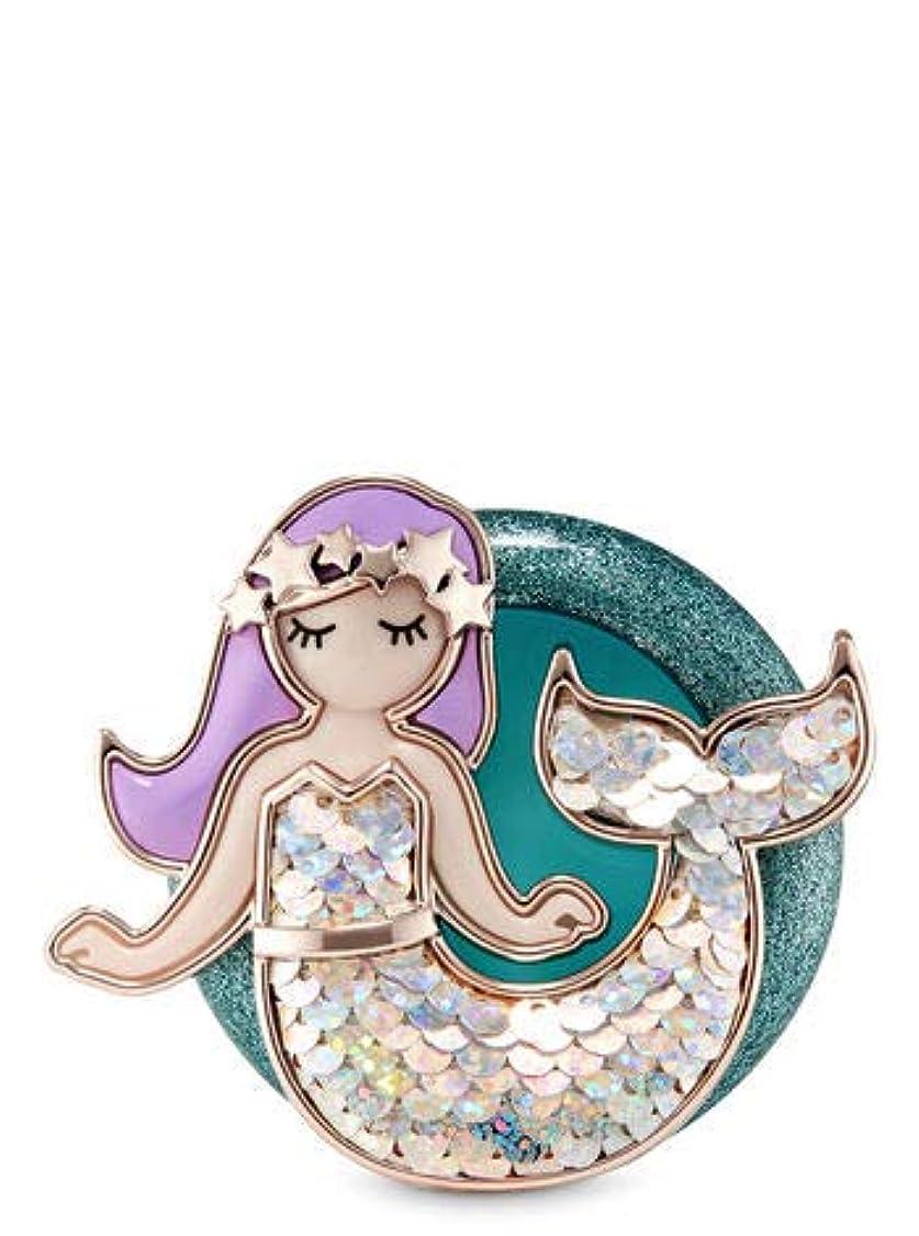 縁石骨の折れるスクラップ【Bath&Body Works/バス&ボディワークス】 クリップ式芳香剤 セントポータブル ホルダー (本体ケースのみ) マーメイド Scentportable Holder Marmaid [並行輸入品]