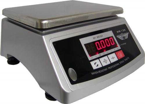 PROMOTION : Balance de cuisine professionnelle inox et étanche avec double affichage - 12kg x 1g - indice IP64 Balance PRO
