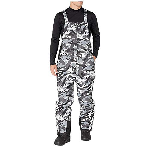 FOTBIMK Pantalones de esquí con costuras selladas, pantalones de esquí, pantalones de esquí, ideales para deportes de invierno, snowboard.