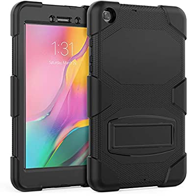 "Samsung Galaxy Tab A 8.0"" Case (Only Fit SM-T290/SM-T295 2019 Release).Timecity Rugged Stand Case for Samsung Galaxy Tab A 8.0 Inch 2019 Without S Pen Tablet Model SM-T290N (Wi-Fi) SM-T295 (LTE)"