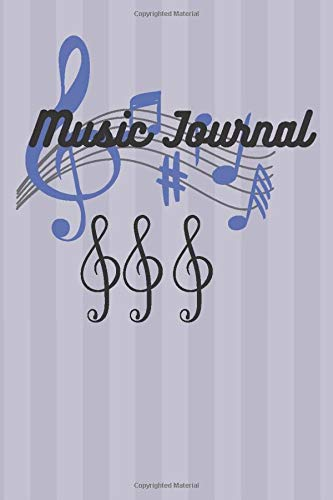 Music Journal (Music Sheet , Diary, Notebook): Music Sheet 120 PAGES