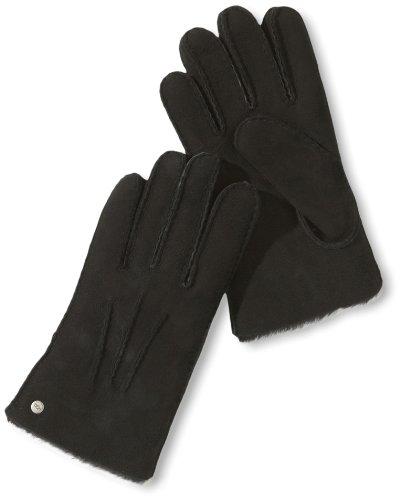 UGG Herren Handschuh U1568, Gr. 9 (L), Schwarz (BLACK)