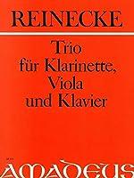 REINECKE - Trio Op.264 en La Mayor para Clarinete, Viola y Piano (Partitura/Partes) (Pauler)