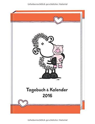 sheepworld Tageskalenderbuch A6 2016