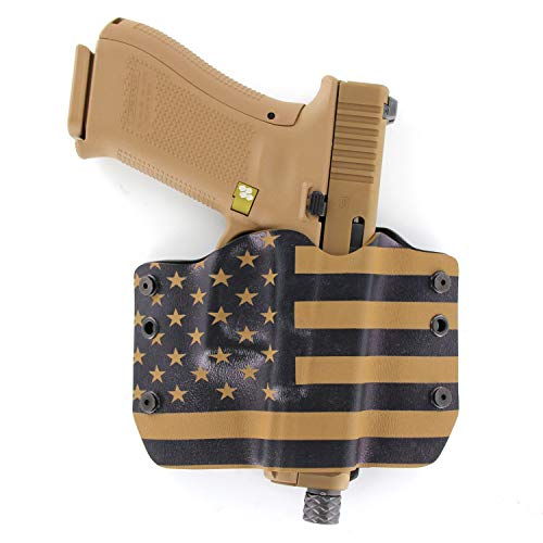 OWB Holster - USA Coyote Tan (Right-Hand, Fits Glock...