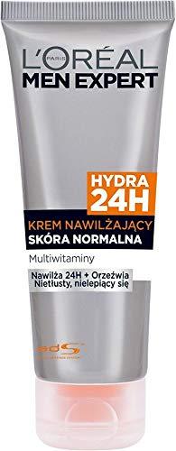 L'Oreal Paris Men Expert Hydra 24H After Shave Moisturizing Cream Normal Skin Multi-vitamins, 1er Pack (1 x 75 ml)