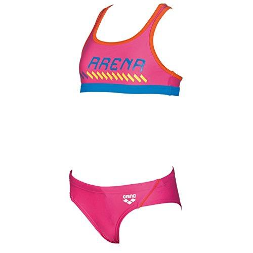 ARENA Mädchen Sport Bikini Sumo, Fresia-Mango, 152