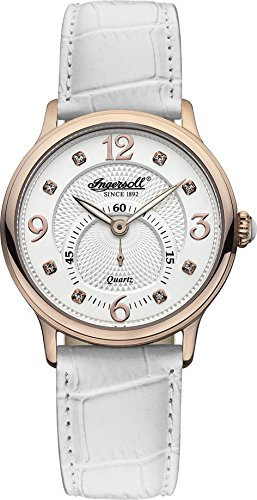 Ingersoll Women's INQ022WHRS Regent Analog Display Japanese Quartz White Watch