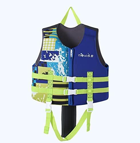 Z-DJJ Chaleco de natación para niños, Chaleco Salvavidas de flotabilidad Flotante, Traje de baño de flotabilidad de flotación para niños y niñas, Accesorios para Deportes acuáticos al Aire Libre