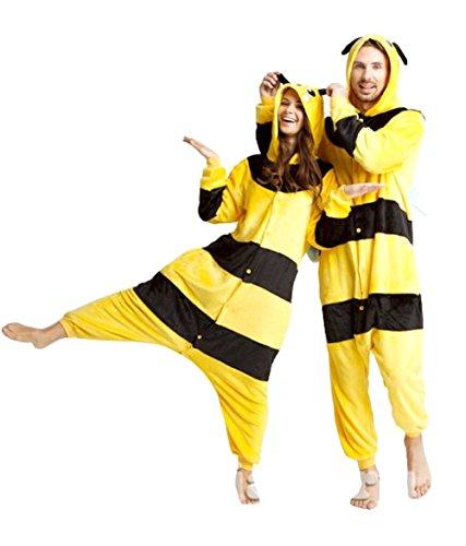 Inception Pro Infinite Taglia XL - Pigiama e Costume - Travestimento - Carnevale - Halloween - Pikachu - Pokemon - Colore Giallo - Strisce Nere - Adulti - Unisex - Donna - Uomo - Ragazzi