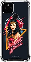 Skinit Clear Phone Case Compatible with Google Pixel 4a 5G - Officially Licensed Warner Bros Diana Prince Wonder Woman Design