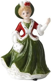 Royal Doulton Miniature Pretty Ladies: Yuletide Memories