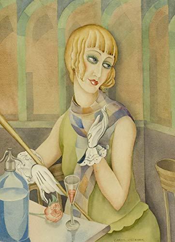 Berkin Arts Gerda Wegener Giclee Auf Leinwand drucken-Berühmte Gemälde Kunst Poster-Reproduktion Wand Dekoration(Lily Elbe von) Große größe 71.8 x 99.1cm #EDFB