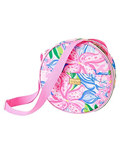 Lilly Pulitzer - Picnic Bag with Wine Glasses, Knives and Forks - Havana Cocktail