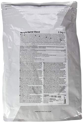 Myprotein Impact Weight Gainer Chocolate Smooth, 1er Pack (1 x 2.5 kg) - 2