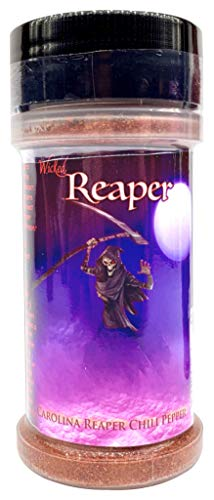 Carolina Reaper Chili Pepper Powder Wicked Tickle Wicked Reaper World's Hottest Chili Pepper
