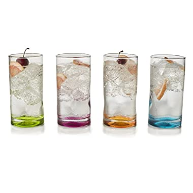 Libbey Impressions Colors 4-piece Cooler Glass Set