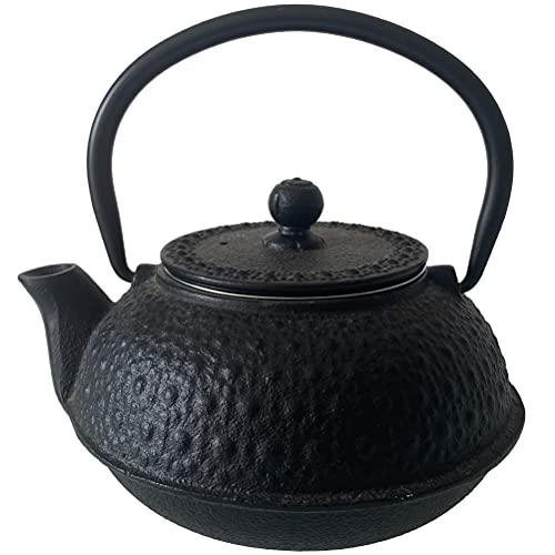 Teekanne 0,6 l – Japanischer Gusseisen, Schwarz