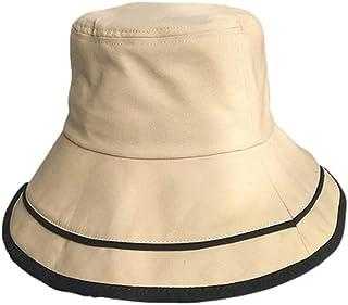قبعة شمس Wxcgbnstym ، التسوق ، السفر ، البحر ، مناسبة للشاطئ ، 1 حزمة قبعات شمس الشاطئ القابلة للطي للنساء (اللون: بيج)
