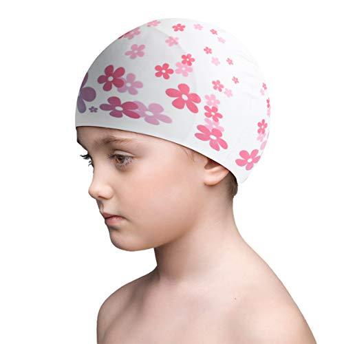 WINOMO Silikon Schwimmen Kappe Komfortable Bade Kappe Hut Ideal für Baby Kinder Kinder Schwimmen Lieferungen Wasser Sport