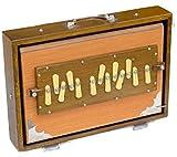 Caja Shruti, calidad profesional, 13 x 9.5 x 3 pulgadas, color...