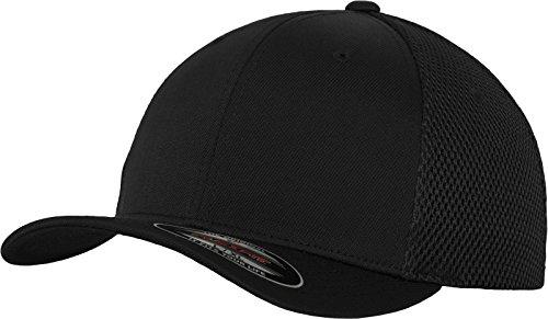 Flexfit Erwachsene Mütze Tactel Mesh, Black, L/XL, 6533
