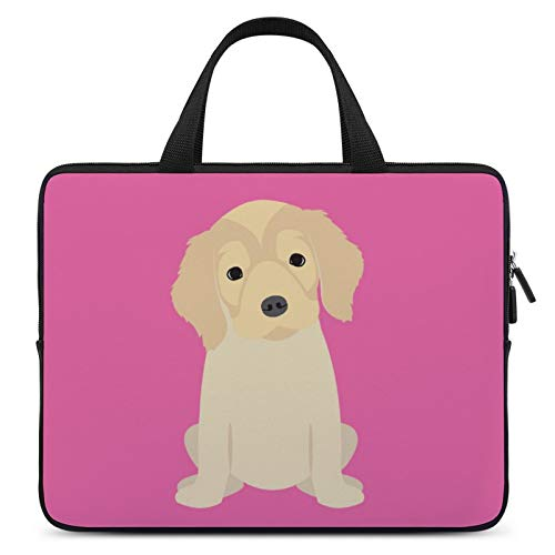 Universal Laptop Computer Tablet,Case,Cover for Apple/MacBook/HP/Acer/Asus/Dell/Lenovo/Samsung,Laptop Sleeve,Color for Dog Mammal Golden Retriever,12inch