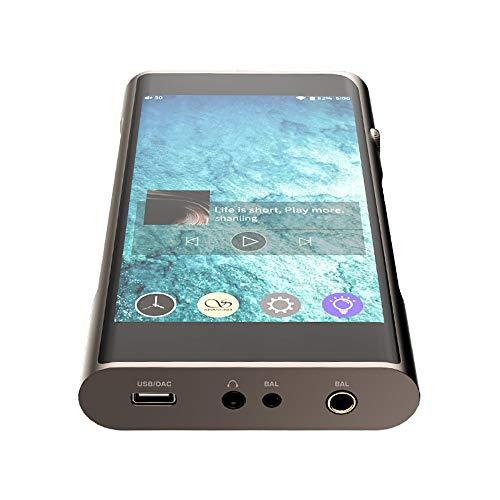 hifi SHANLING M6 Pro Reproductor de Música Android Reproductor de MP3 Salida Balanceada Bluetooth Calidad de Sonido Reproductor de MP3 Portátil para Teléfonos