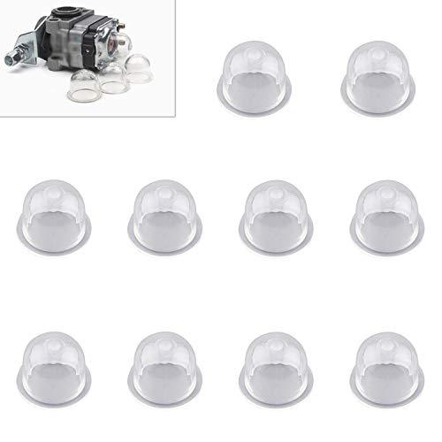 Zaky 10 Stück Zündkapsel Primer Pumpe Kraftstoffpumpe für Kettensäge Kettensägen Gebläse Trimmer Bürstenschneider Trennsäge Rasenmäher kit(22mm)