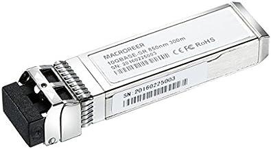 Macroreer for Netgear AXM761 10GBASE-SR SFP+ Module Transceiver Multimode Fiber 850nm 300-meter