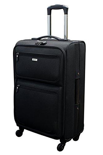 [ビータス] スーツケース ソフト 機内持ち込み可 BSC-20 保証付 57L 70 cm 4.8kg ブラック