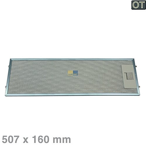 Electrolux AEG 405534414 4055344149 ORIGINAL Fettfilter Filtergitter Filter Metall 512x160mm z.T. DF6160-ML DF6260-ML EFP6400G 2600D-A Dunstabzugshaube auch wie 5026837000 50268370009