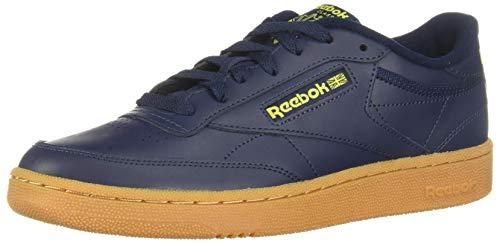 Reebok EF3246, Sneaker Hombre, Collegiate Navy/Hero Yellow/Rubber Gum-06, 45.5 EU