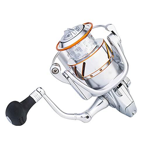 yankai Carretes de Spincasting Pesca rodamiento de Acero Inoxidable 5 + 1 relación de Velocidad 5.1: 1 Resistencia a la corrosión del Agua de mar Intercambio de Mano Izquierda y Derecha